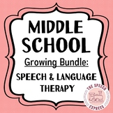 Middle School Speech and Language Therapy: ULTIMATE GROWIN
