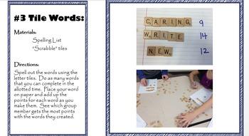 Middle School Spelling Bundle; homophones; Printables; Pow