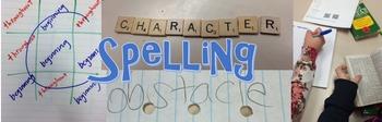 Middle School 20 Spelling words - homophones - QR code activity PRINTABLE