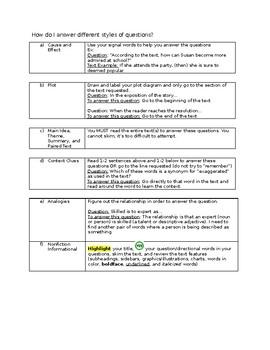 Middle School Standardized Test Prep