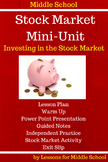 Middle School- Stock Market Mini-Unit