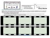 Middle School ELA Story Board Frames