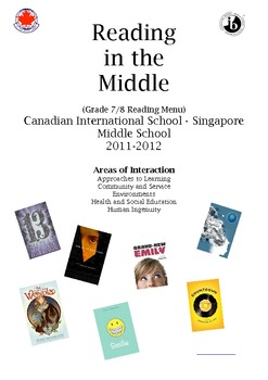 Middle School Student Book List - IB - MYP - V.1. Areas of Interaction