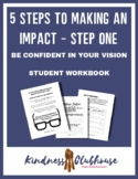 Middle School Student Leader Journal Part One: Be Confiden