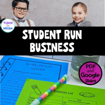 Middle School Student Run Business Project