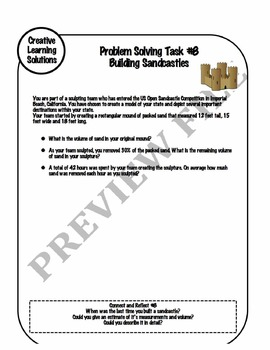 Middle School Summer Math Enrichment Packet