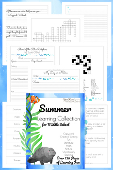 Middle School Summer Learning Collection