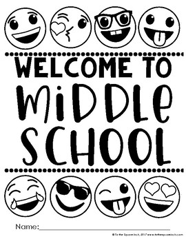 Middle School Back to School