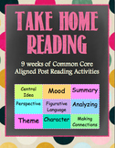 ELA Take Home Reading Common Core Activity Pack