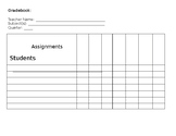 Middle School Teacher Gradebook