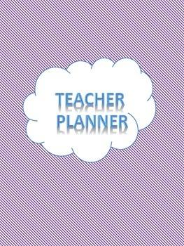 Middle School Teacher Planner