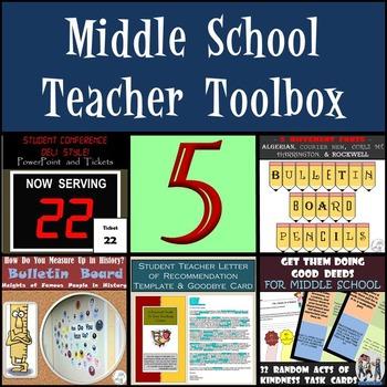 Middle School Teacher Toolbox
