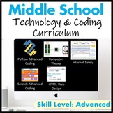 Middle School Technology & Coding Curriculum Grade 6-8 (Le