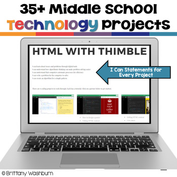 Middle School Technology Projects