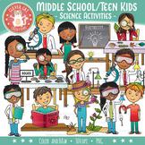 Science Kids Clip Art – Middle School / Teen