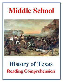 Middle School Texas History Reading - Clashes with the Apache