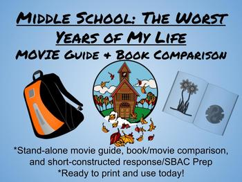 Middle School: The Worst Years of My Life-MOVIE GUIDE