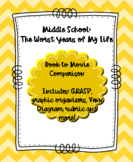 Middle School: The Worst Years of My Life, Movie/Novel Comparison
