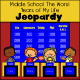 Middle School: The Worst Years of My Life by James Patterson Jeopardy