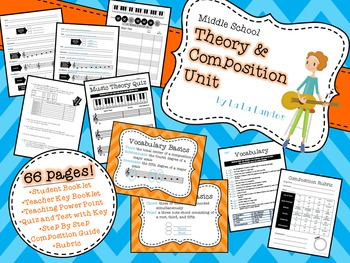 Theory and Composition Unit with Project for Middle School