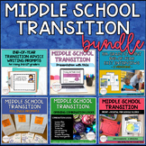 Middle School Transition Bundle Set of 6 Classroom Counseling Resources