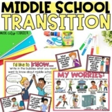 Middle School Transition Activities Printable and Digital for Distance Learning