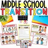 Middle School Transition Activities Printable Digital Goog