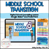 Middle School Transition Digital Lesson for Google Slides™ and PowerPoint
