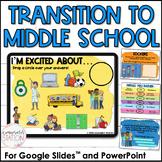 Middle School Transition Digital Lesson for Google Slides™