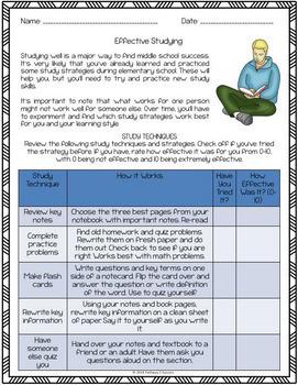 Middle School Transition Kit