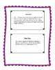 Middle School Verb Task Cards