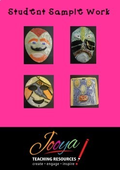 "VISUAL ARTS : Middle School Visual Arts Unit - ""Mask-erade"""