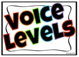 Middle School Voice Level Poster | Bold