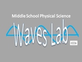 Middle School Science Waves Lab NGSS* Aligned