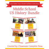 Middle School US History Bundle Gr. 5-8