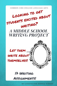 Narrative Writing- Personal Reflection for Middle School - Writer's Notebook