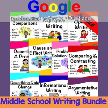 Middle School Writing BUNDLE