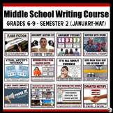 Middle School Writing Course (Grades 6-9) : Semester 2 - J