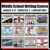 Middle School Writing Course (Grades 6-9) : Semester 2 - J