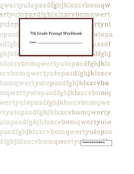 Middle School Writing Workbooks Bundle