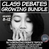 Middle/High School Debates: Growing Bundle