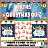 Christmas Math Quiz