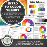 Middle School or High School Introduction to Art: Color Theory & Color Mixing