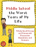 Middle School the Worst Years of My Life Discussion Questi