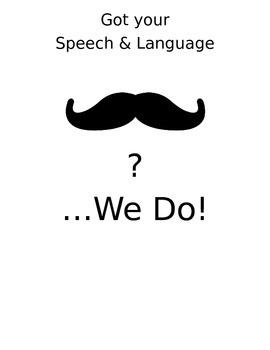 Mustache Speech Reward Display