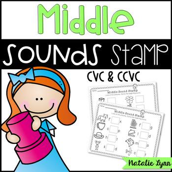 Medial Vowel Sounds Stamp