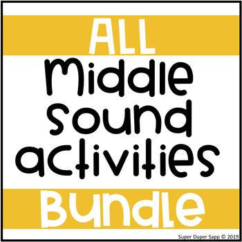 Middle Sound Activities BUNDLE