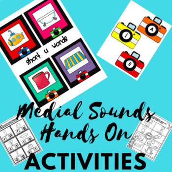 Middle Sound Frenzy-Working on Medial Sounds