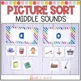 Middle Sound Picture Sort (Short Vowels)