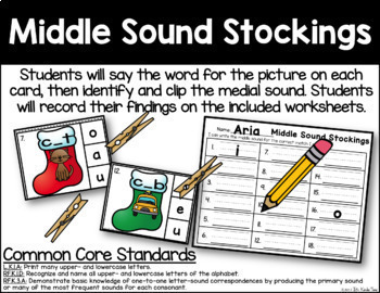 Middle Sound Stockings - Medial Sound Identification